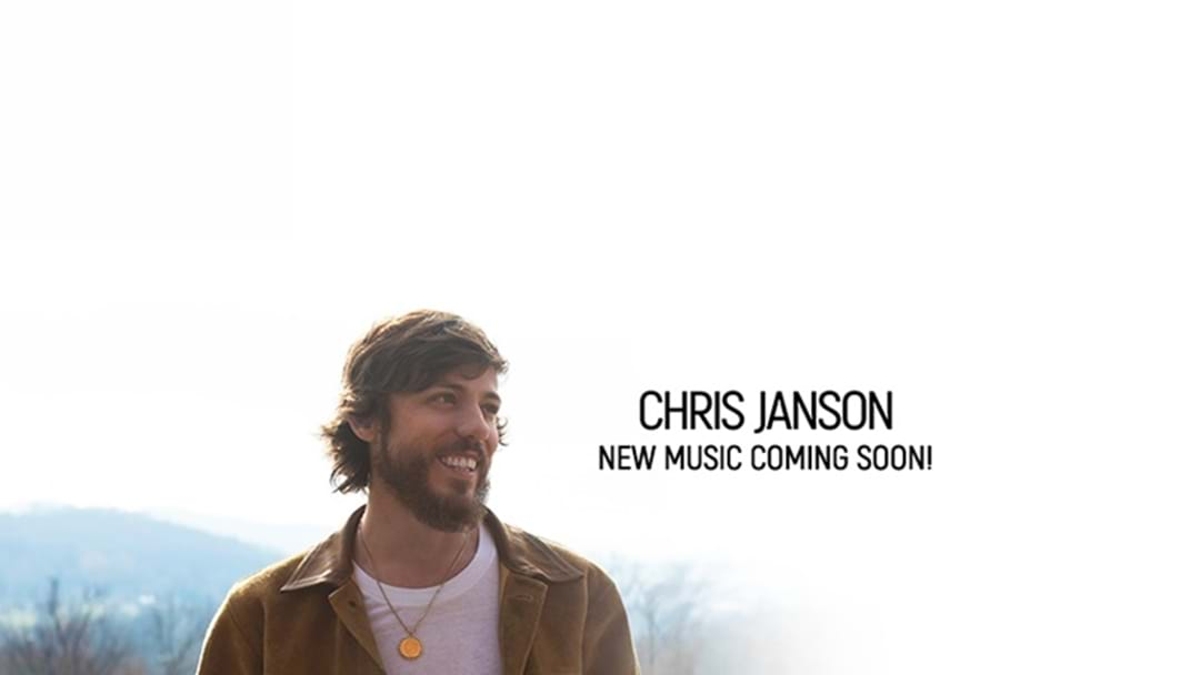 "Chris Janson Announces New Album ""Real Friends"""