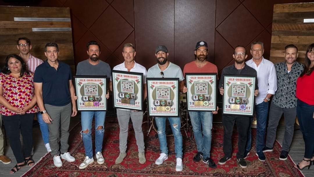 """Old Dominion's Sophomore Album """"Happy Endings"""" Certified Gold"""