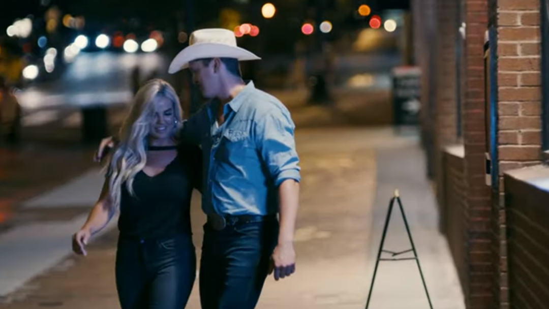 That's Jon Pardi's Girlfriend Two Stepping With Him in His Heartache Medication Video