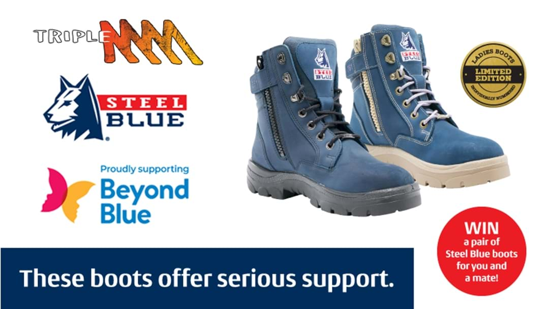 Win A Pair Of Steel Blue Boots For You And A Mate!