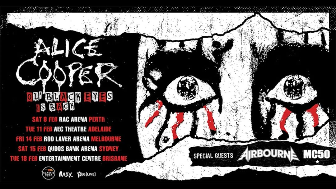 Rock Fans Fire Up... The Man, The Legend, Alice Cooper Is Coming With A Huge Arena Tour Early Next Year