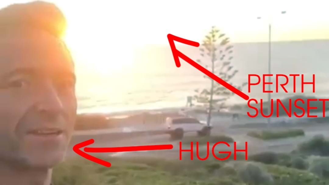 The Big Breakfast Are Stumped… Where Did Hugh Jackman Shoot THAT Perth Video?