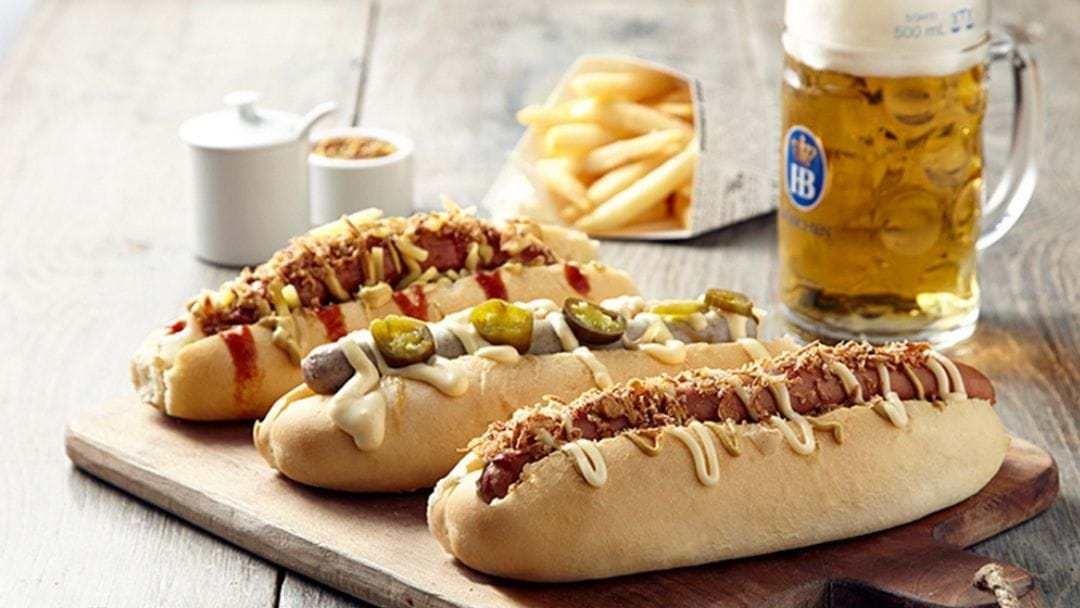 Come Celebrate Bavarian Robina's Grand Opening With Free Hotdogs!
