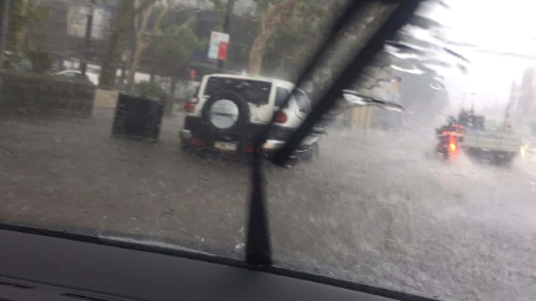Travel Chaos As Sydney Hit By Flash Floods