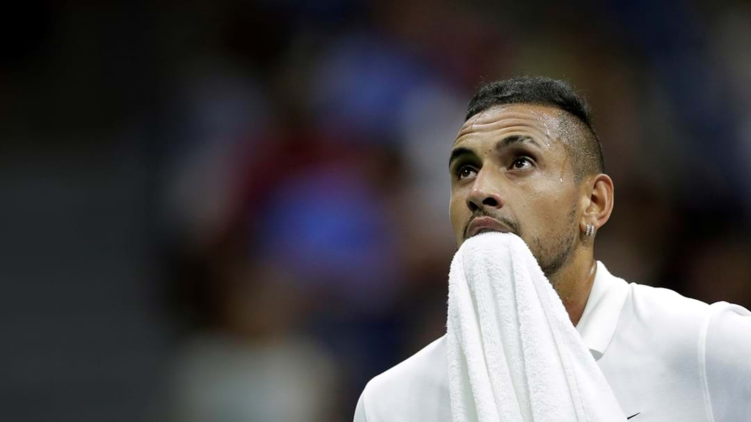 Nick Kyrgios Is Out Of The US Open