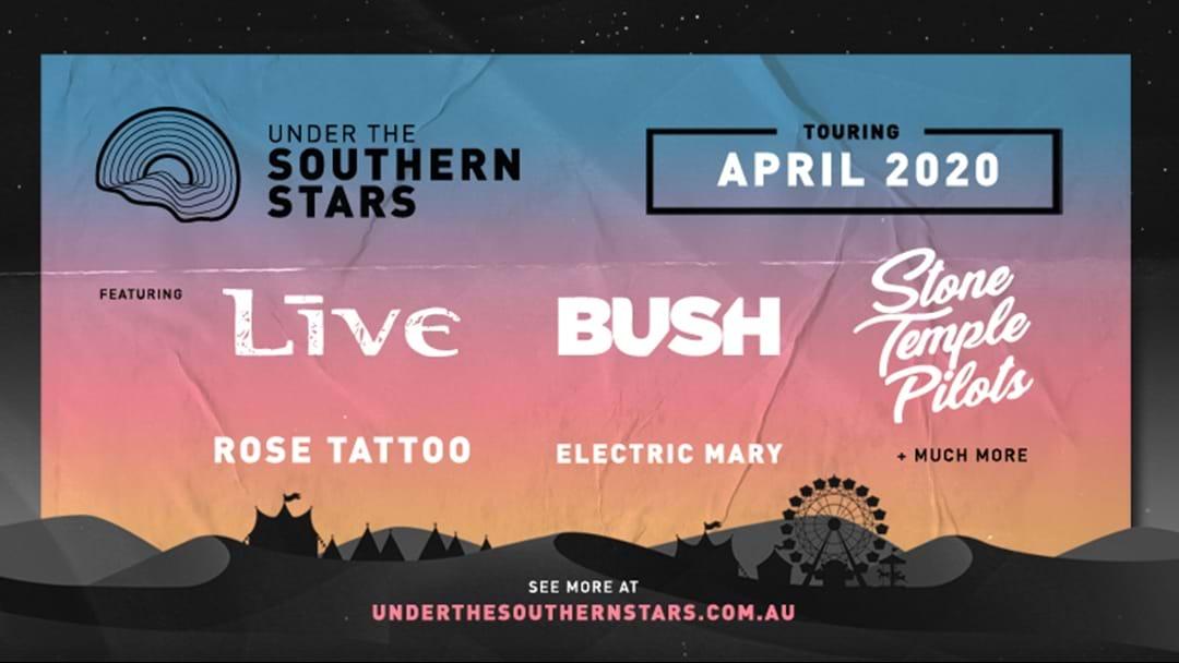 LIVE, Bush & Stone Temple Pilots Return To Australia For Under The Southern Stars National Tour