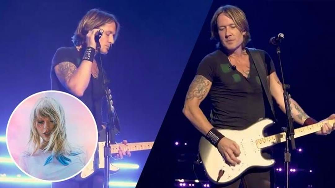 Keith Urban Has Covered Taylor Swift's 'Lover' And The World Is Good