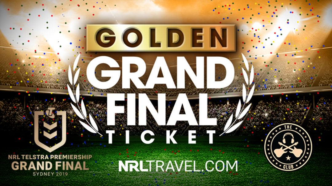WIN YOUR WAY TO THE 2019 NRL TELSTRA PREMIERSHIP GRAND FINAL