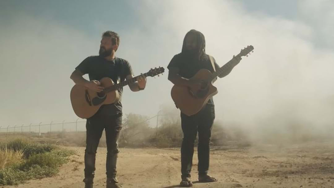 WATCH IT HERE FIRST: Busby Marou's New Clip, Filmed At Birdsville's Big Red Bash