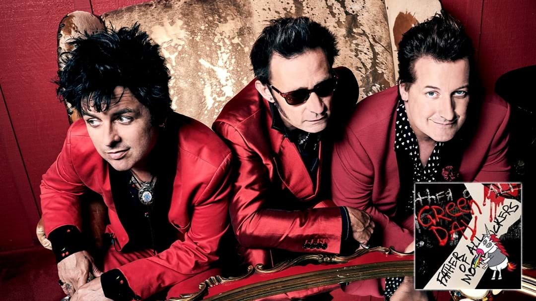 """""""We Wanted To Sound Like Prince"""" - Green Day On Their Brand New Single"""