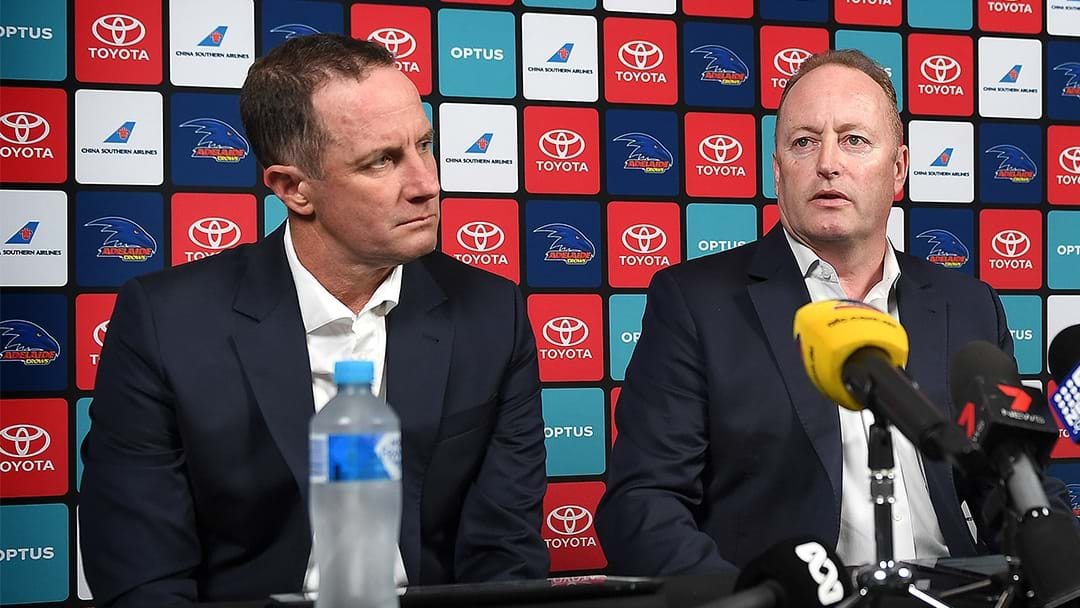 Adelaide Chairman Rob Chapman Outlines The Process To Find A New Coach