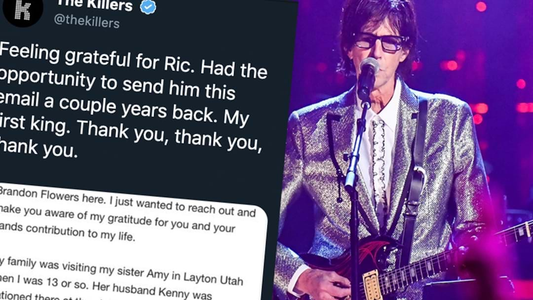 The Rock World Reacts To The Sudden Passing Of The Cars' Ric Ocasek