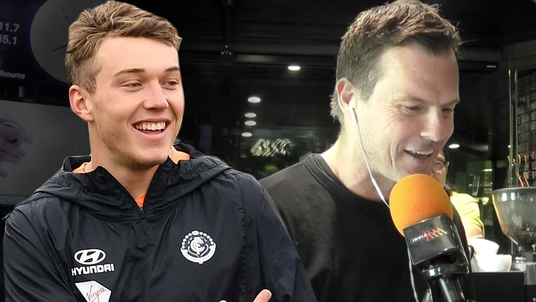 Patrick Cripps Gets Stuck Into Darc Over His Rising Star Votes!