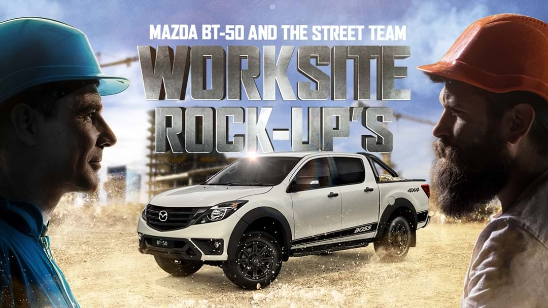Win a Worksite Rock-Up!