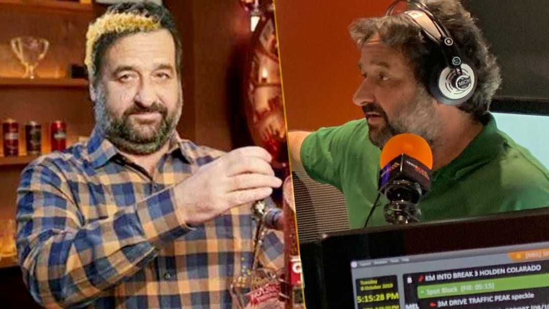 Mick Molloy Gets Challenged Over His Huge Mabior Chol Grand Final Bet