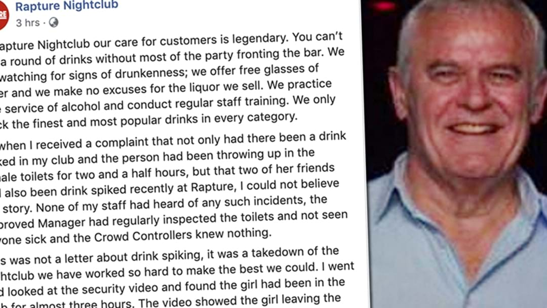 Rapture Nightclub Finally Issued An Apology And Then Promptly Removed It
