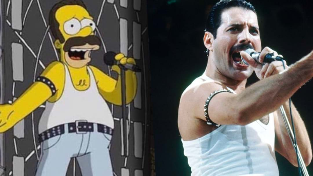The Simpsons Have Reportedly Recreated Queen's Live Aid Performance