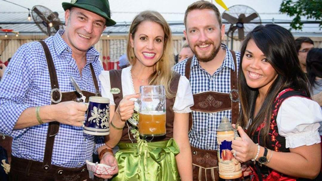 Need An Oktoberfest Fix? There's A Massive Beer Hall Event This Weekend In Perth, Ja!