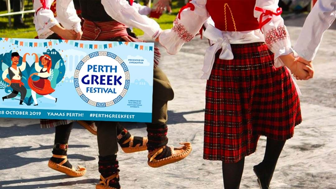 There's A Massive Greek Festival Happening In Perth This Month