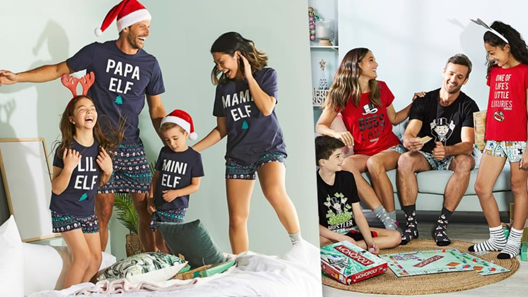 Tell Your Festive Friends... Big W Are Stocking A Range Of Matching Xmas PJ's For You, Your Kids And Even The Dog