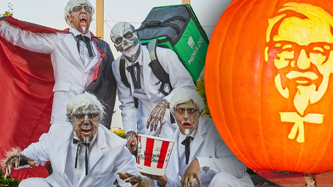 KFC Scared The Living Chicken Nuggets Out Of Aussies For Halloween