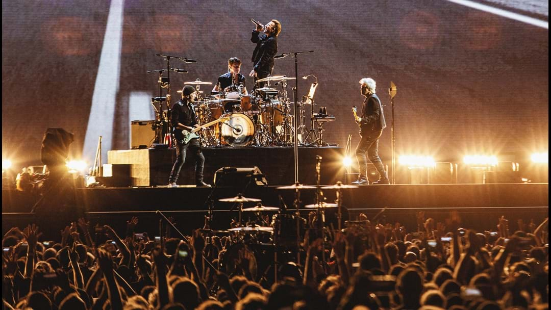 First Look At U2's The Joshua Tree Aussie Tour