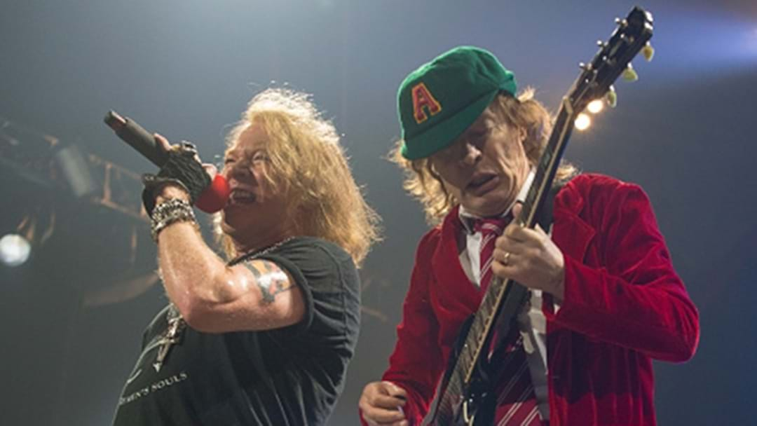 Some Bloke In Canada Reckons AC/DC Are Recording A New Album With Axl Rose