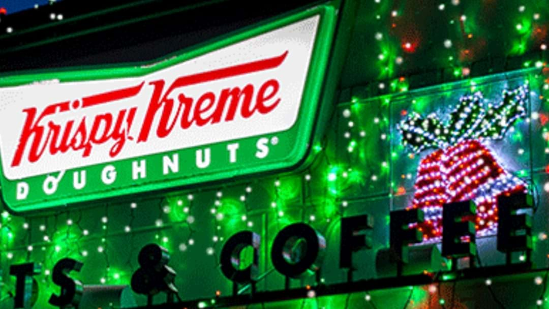 Krispy Kreme Myaree Are Lighting Up Christmas And Helping Out The RSPCA This Friday