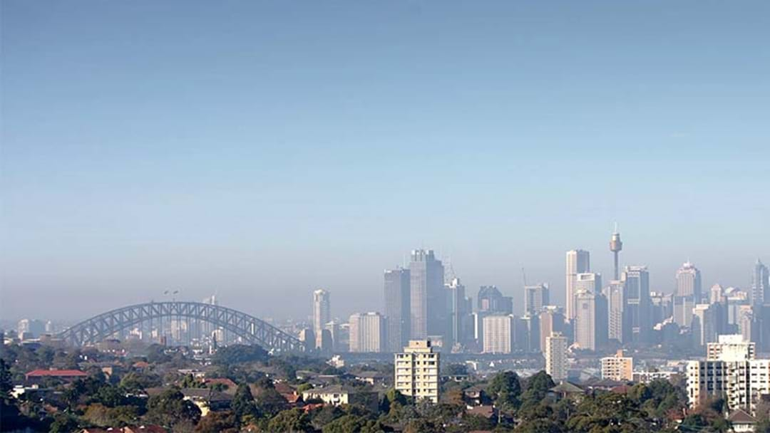 Air Pollution Warning For Sydney