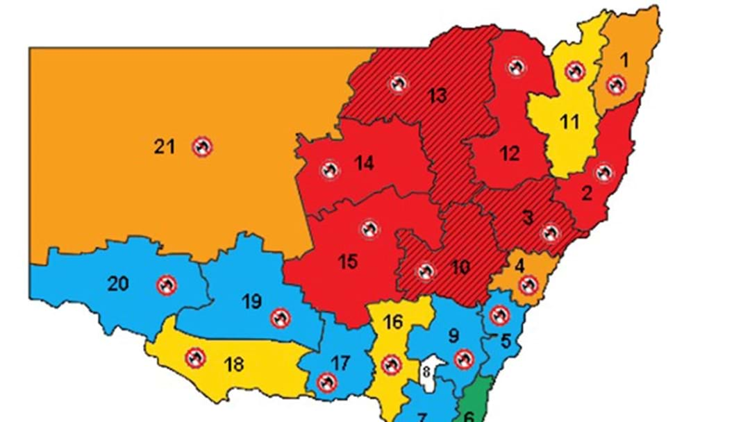 Fire Conditions In NSW Tomorrow Look Set To Be Worse Than Victoria's Black Saturday