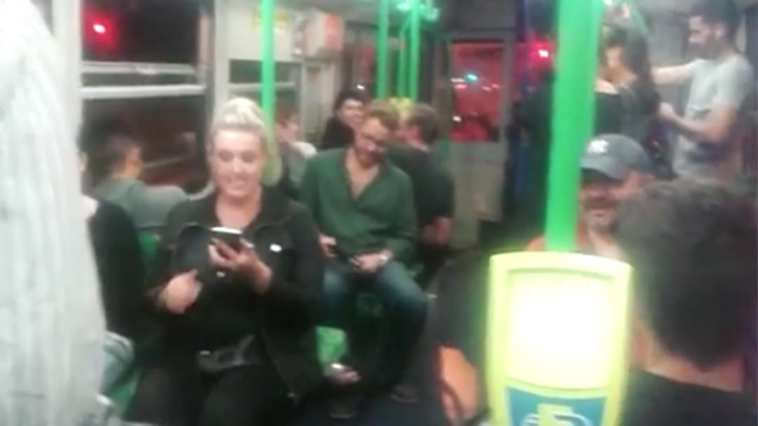 Melbourne Tram Driver Gets Everyone On Board To Sing Happy Birthday