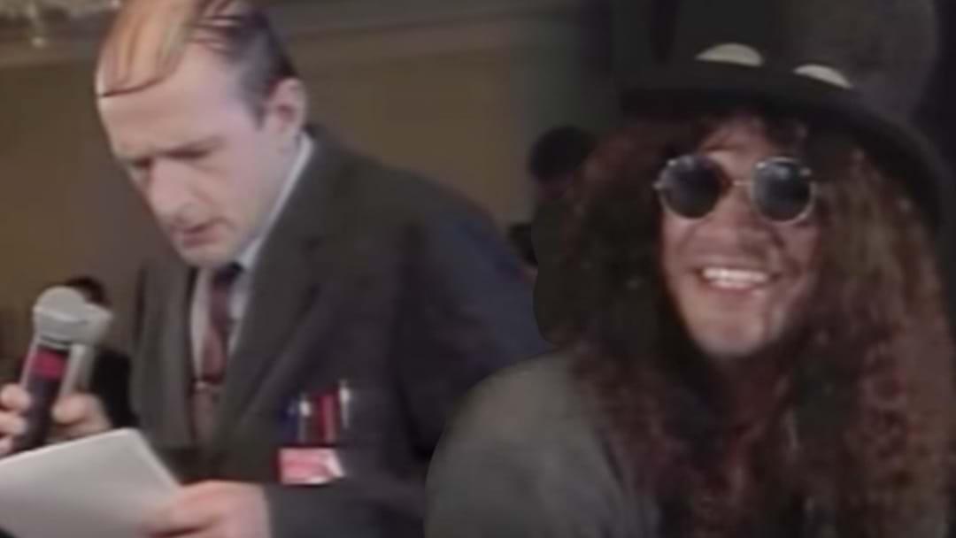 That Time Slash Was Left Speechless By Norman Gunston