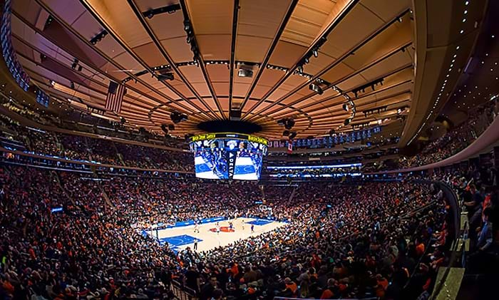 Knick top nba rich list Madison square garden basketball