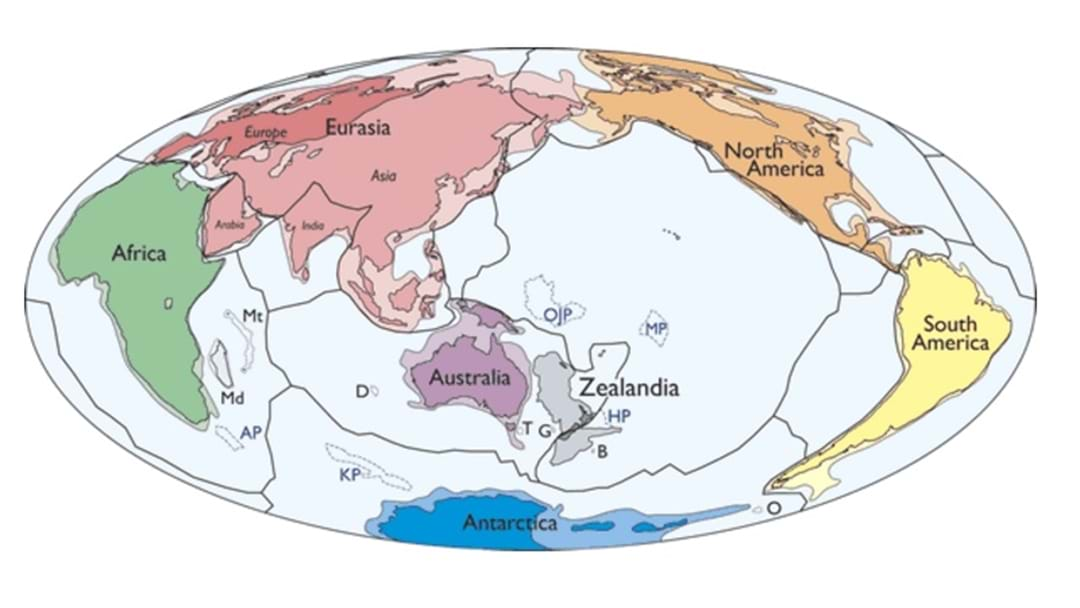Scientists Find 8th Continent - 'Zealandia'