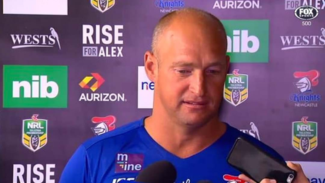 "Knights Admit Interest In ""Influential"" NRL Star"