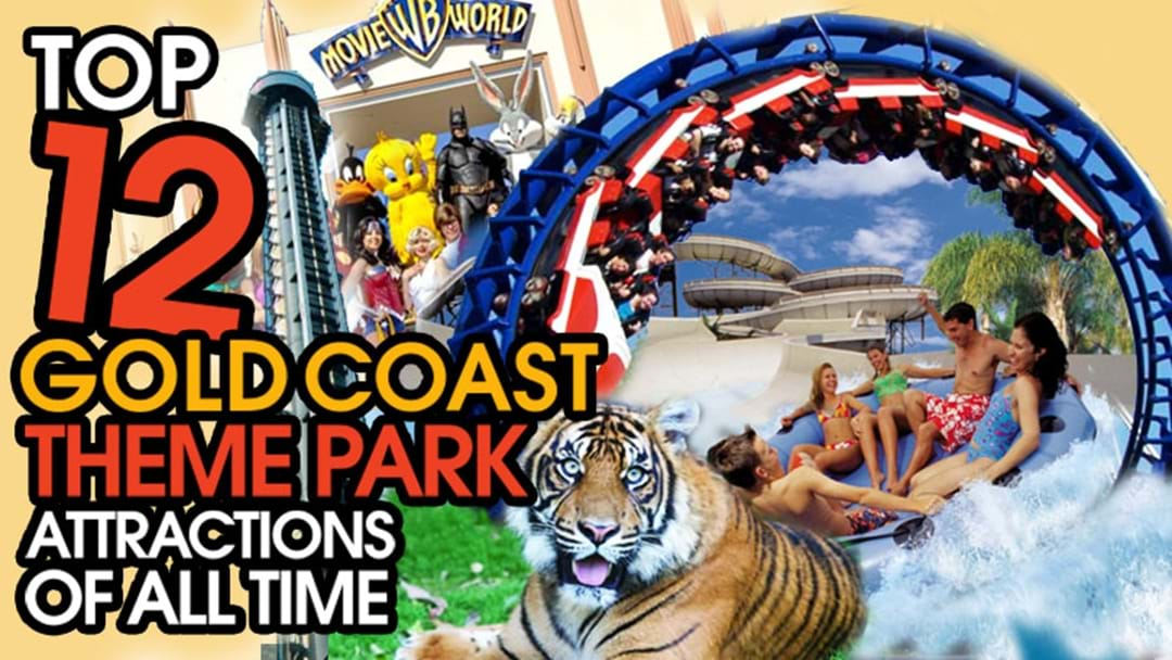 The Top 12 Gold Coast Theme Park Attractions of All Time