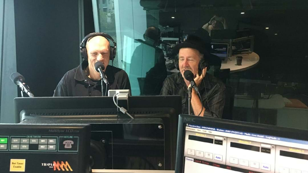LISTEN: Midnight Oil Chat To Marto, Ed & Robin