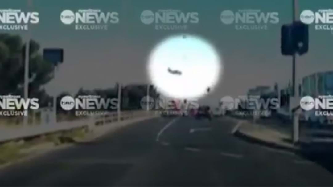 Channel Ten Release Dashcam Footage Of Essendon Plane's Final Moments