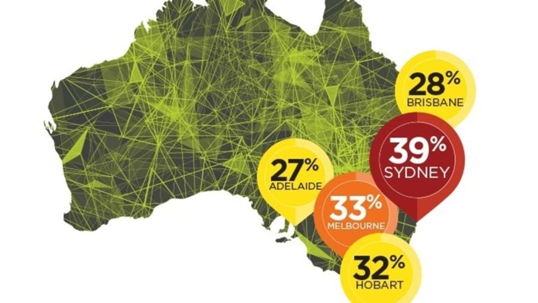 Sydney Motorists Spend Four Working Weeks Stuck In Traffic