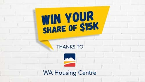 Win your share of $15k