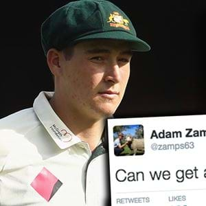 Renshaw Retired Ill And Zampa Has Thoughts!