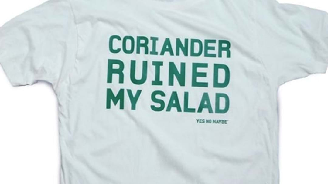 Today Is International Coriander Hatred Day, Apparently?