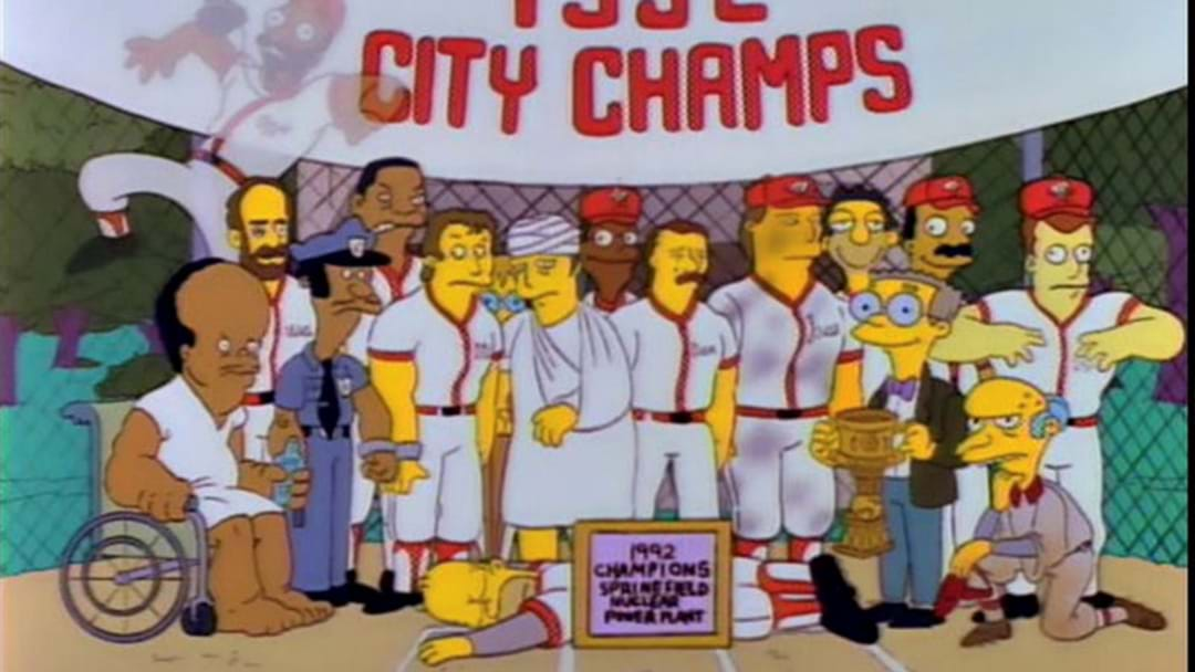 Homer Simpson To Be Inducted Into Baseball Hall Of Fame