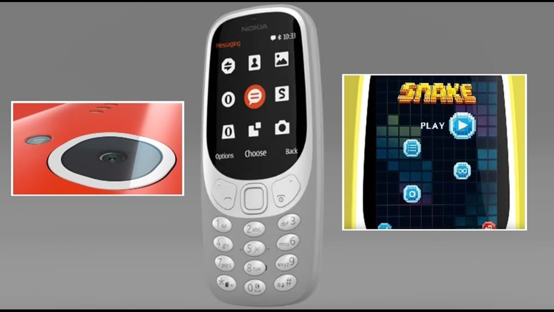 The Nokia 3310 Is Officially Back And YES, So Is Snake!