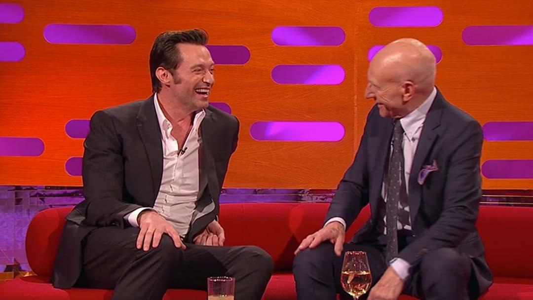 Patrick Stewart Tells A Hilarious Circumcision Story... Leaves Hugh Jackman In Stitches