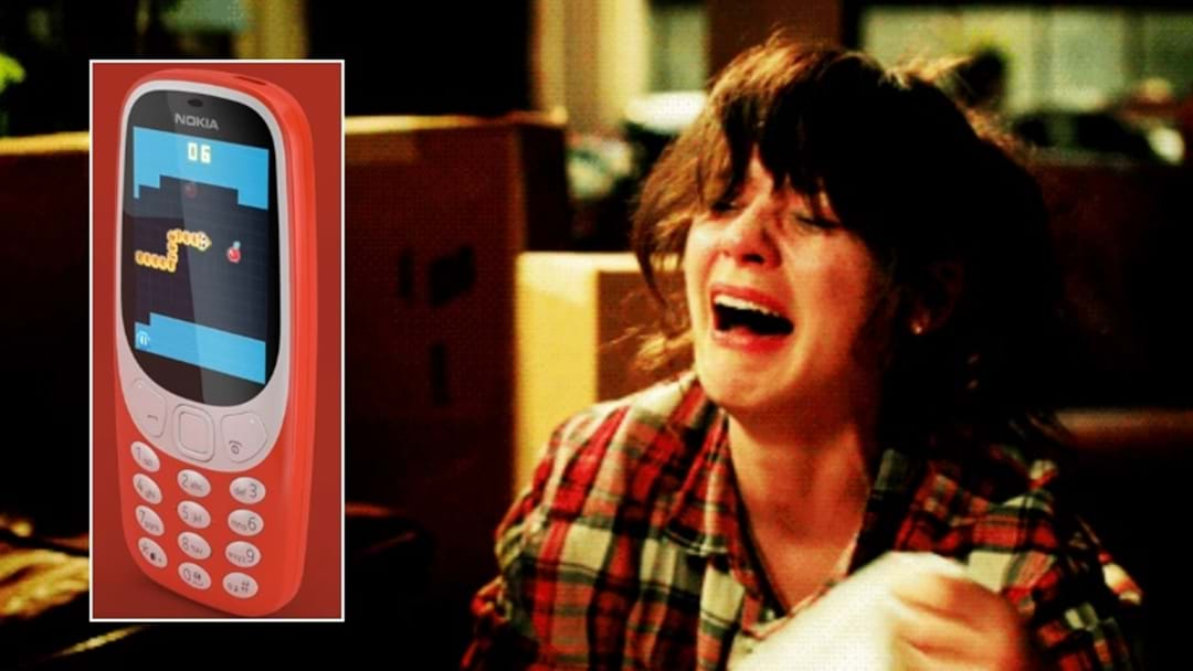 Turns Out The Resurrected Nokia 3310 Won't Hit Aus And We're CRUSHED