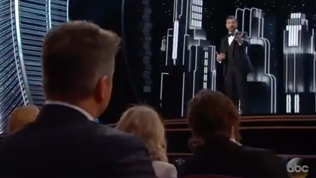 Jimmy Kimmel Rips Matt Damon A New One During Oscars Monologue