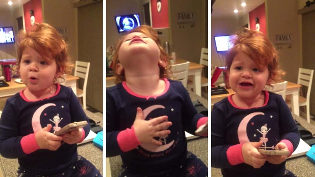 This Toddler Singing Hello Is Off The Wall Cute