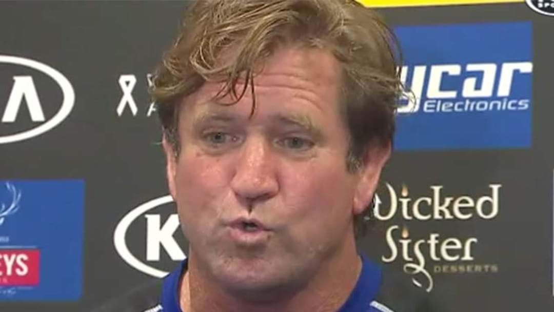 Des Hasler Has Done His Best Trump Impression