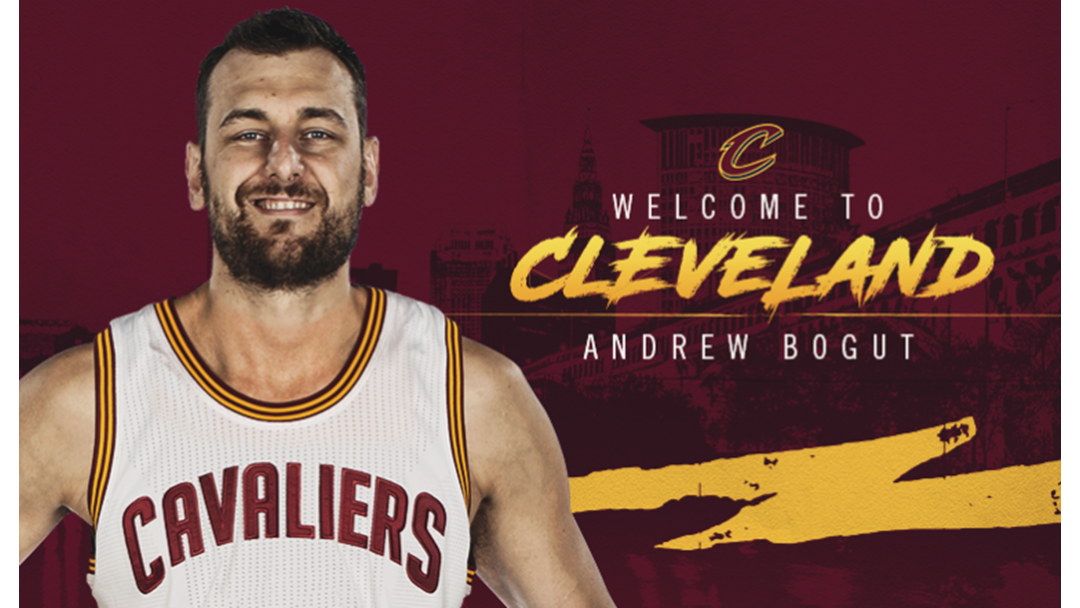 Andrew Bogut Signs With Cleveland Cavaliers